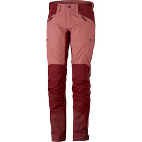 Lundhags Makke Hose Damen crystal/dark red